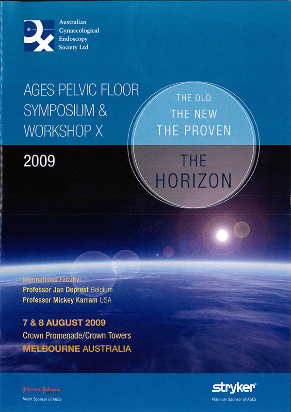 AGES Pelvic Floor Symposium 2009