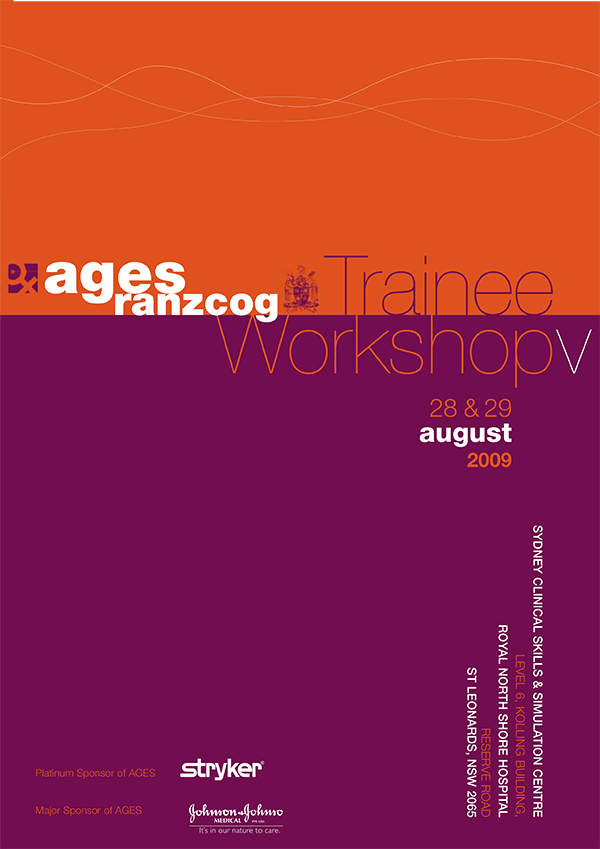AGES Trainee Workshop 2009
