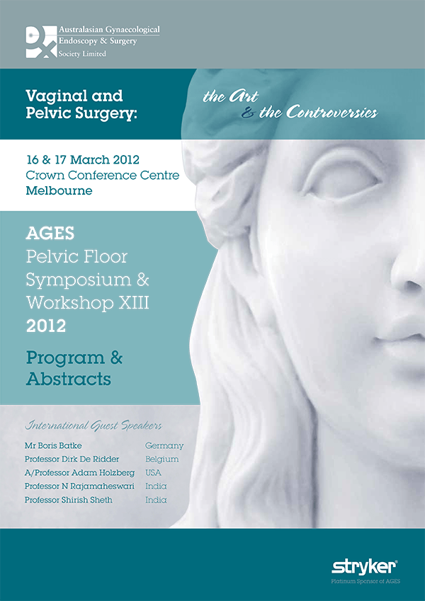 AGES Pelvic Floor Symposium 2012